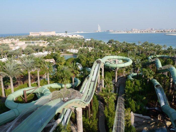 аквапарк Wild Wadi Дубай